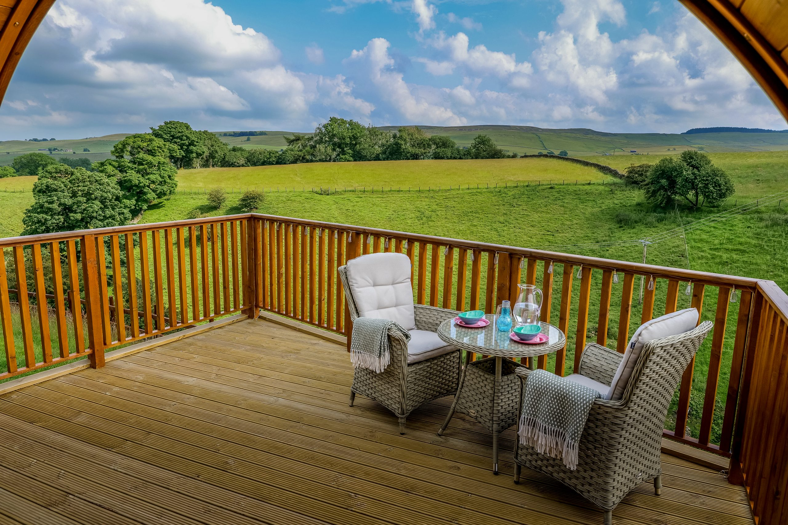 Camping Glamping Pod Teesdale